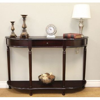 Mega Home Console Table With Turned Legs 192
