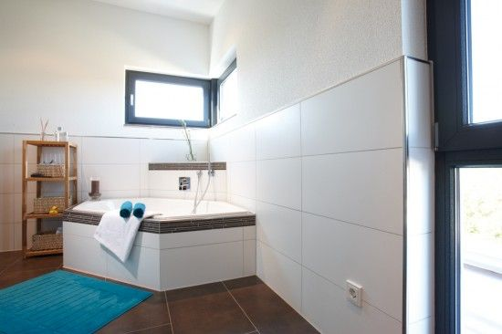 Fertighaus Wohnidee Badezimmer Familiendomizil | Wohnideen ...