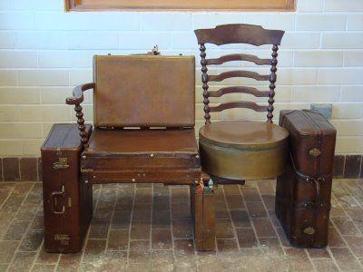 tamale chica chronicles damen brown line suitcase traveler art