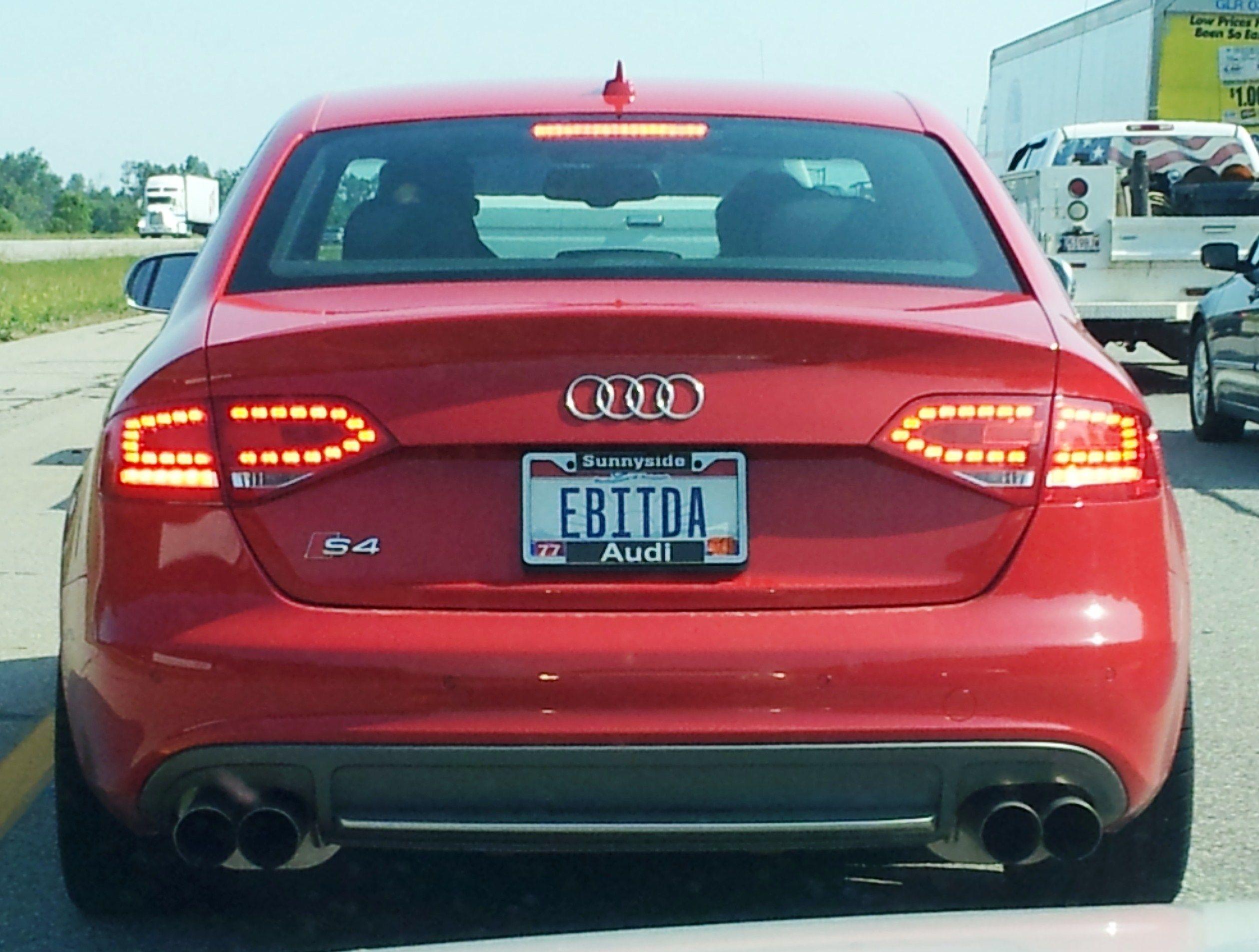 EBITDA License Plates