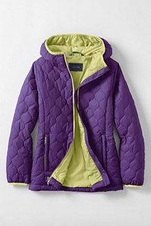 Girls' Lightweight Insulated Packable Jacket | Girls / Outerwear ...