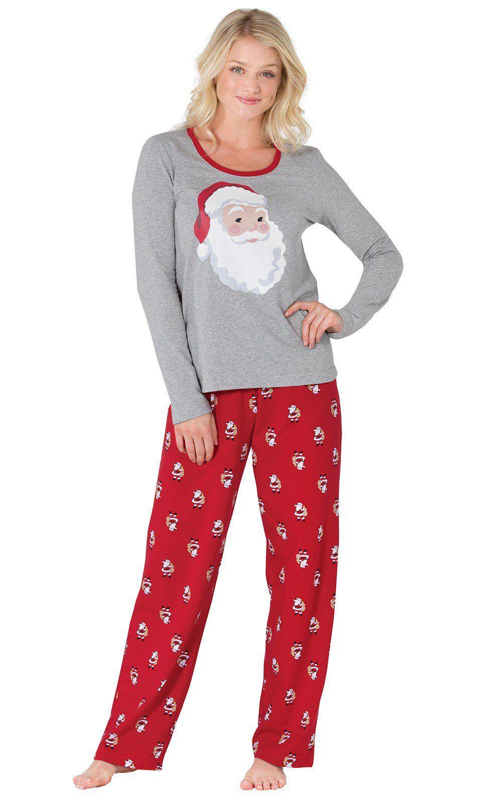 St. Nick Women's Pajamas Pajamas women, Womens christmas