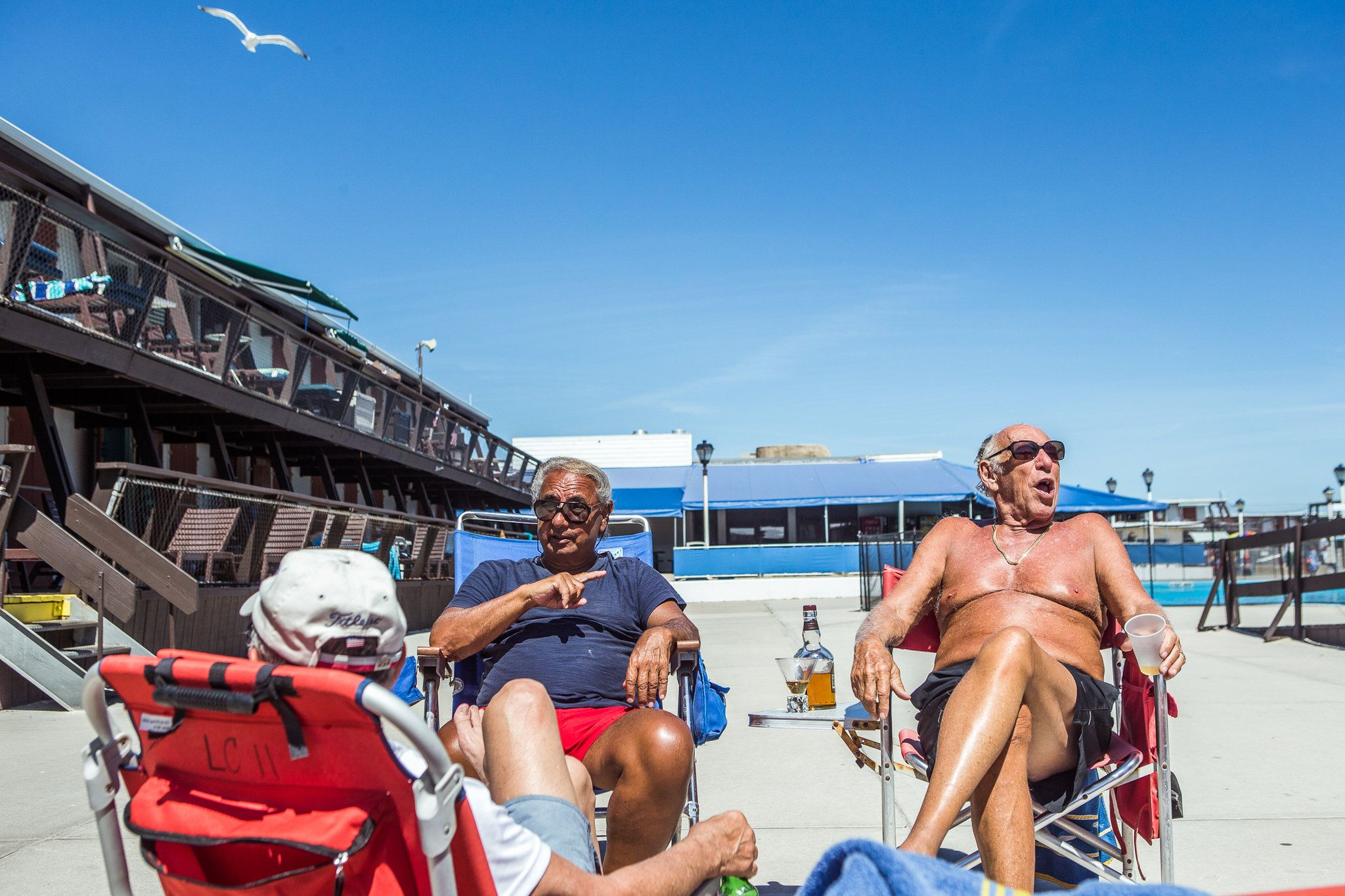 The Silver Gull Beach Club Is Part Of A Disearing World Private Waterfront Clubs In New York City