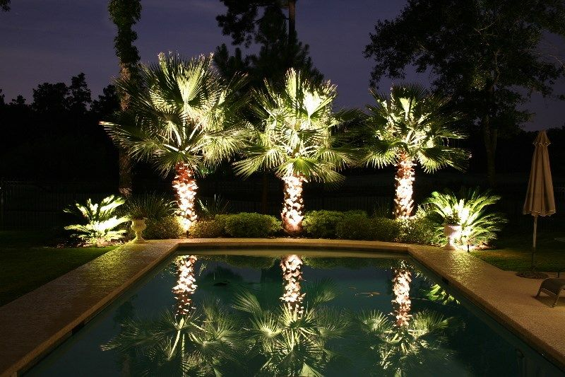 10 Backyard Getaways With Landscape Lighting Outdoor Landscape