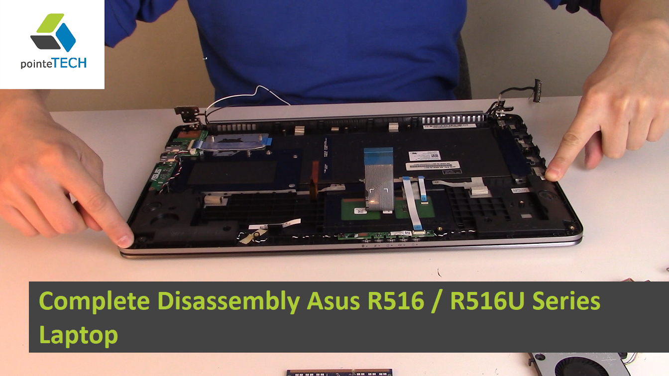 In this video we will be showing you how to completely disassembly
