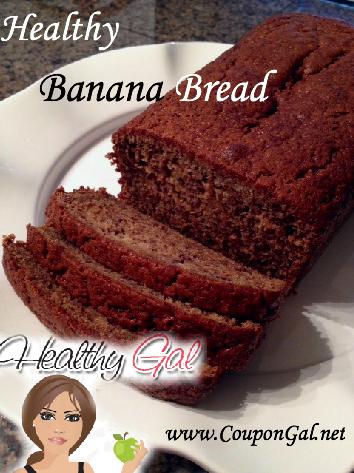 Healthy banana bread recipe child life pinterest healthy healthy banana bread recipe forumfinder Choice Image
