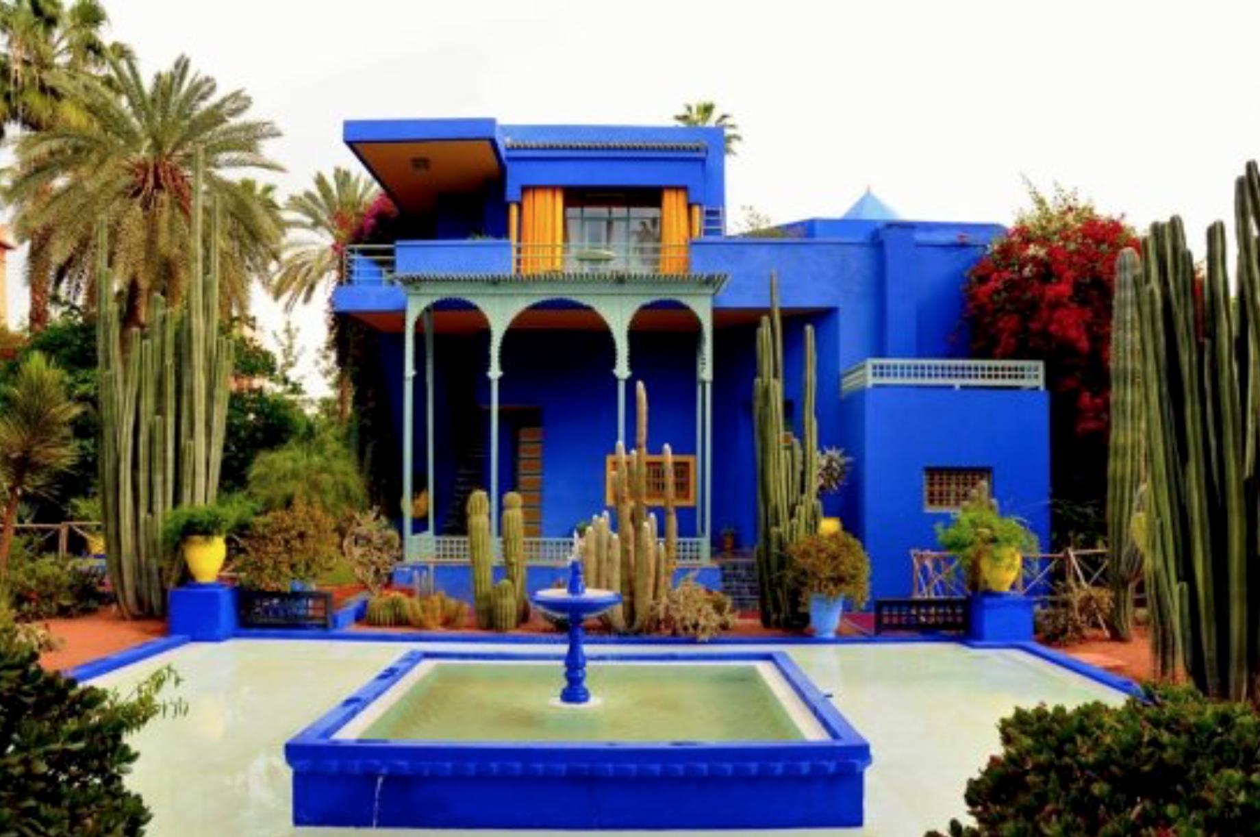 Le Jardin Majorelle  Marrakech Jardin Majorelle