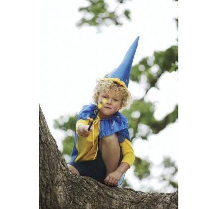 DISFRAZ DE MAGO EN SEDA: CAPA Y GORRO www.hullitoys.com/disfraces-infantiles/3879-capa-disfraz-de-mago-2400000026174.html