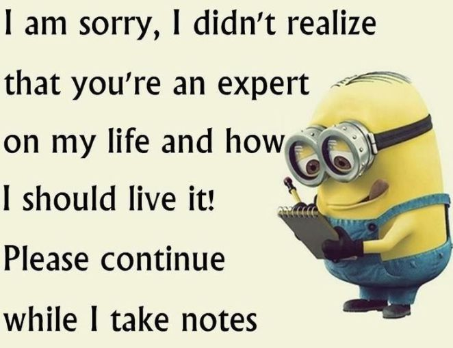 Most Funny Quotes :Top 40 Funniest Minions Pics and Memes…