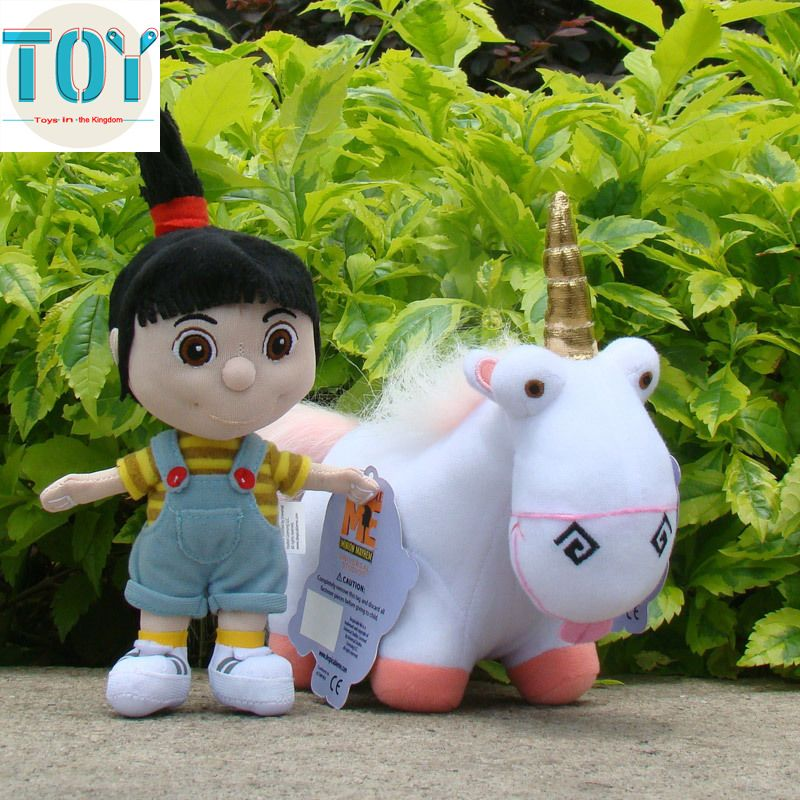 """Despicable Me 3 Plush Unicorn Agnes Fluffy Soft Toy Character 10/"""" New"""