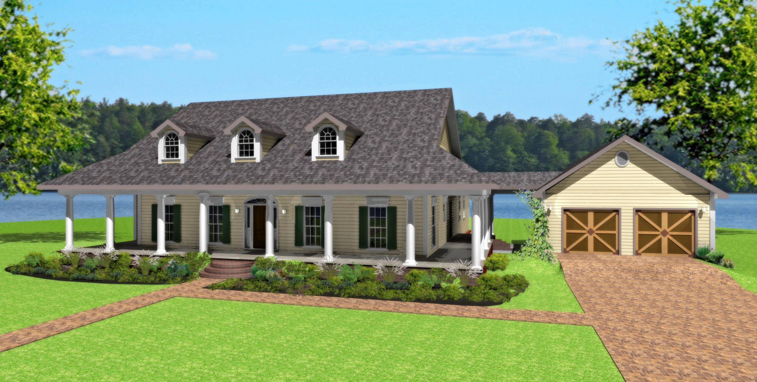 plan 2579dh country spectacular pantry gas fireplace and porch