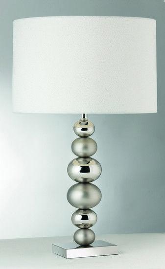 Stolní lampa SEARCHLIGHT SL 5770CC | Uni-Svitidla.cz Klasická pokojová #lampička vhodná jako doplňkové osvětlení domácnosti či kanceláře #functional, #classic, #lamp, #table, #light, #lampa, #lampy, #lampičky, #stolní, #stolnílampy, #room, #bathroom, #livingroom