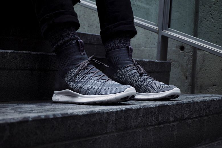 """huge selection of 7ce9b 99859 A First Look at the Nike Free Flyknit Mercurial SP """"Dark Gre"""
