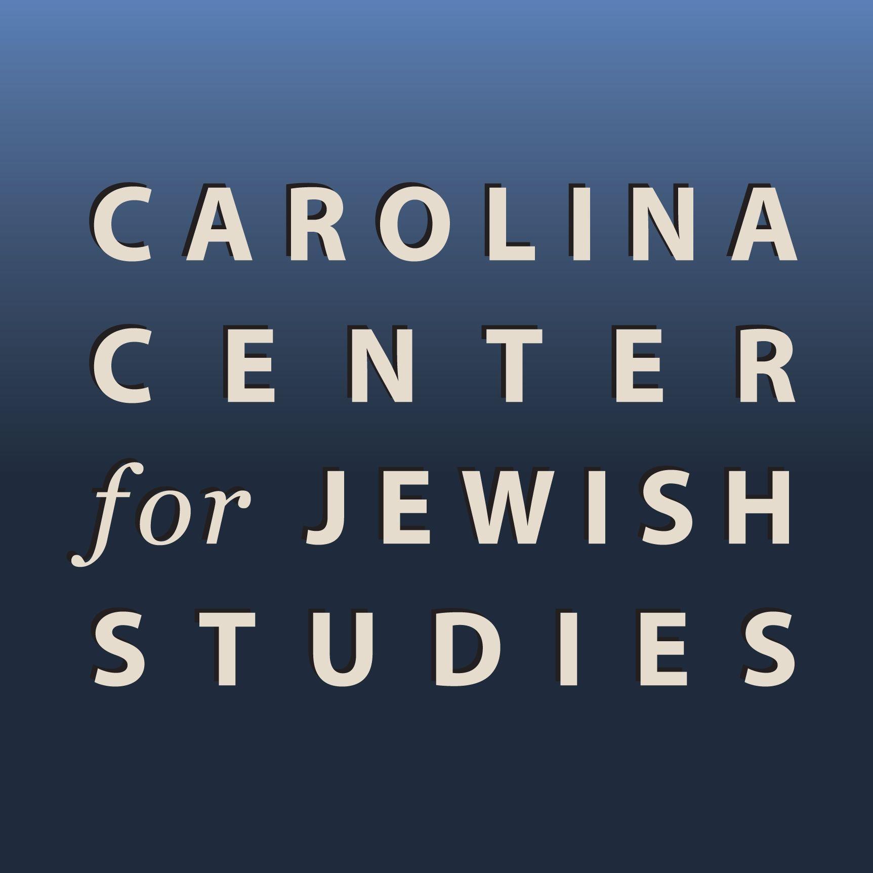 Carolina Center For Jewish Stu S