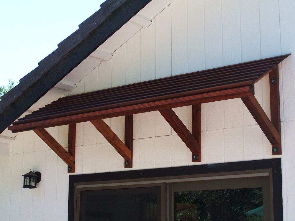 Image Gallery Wood Awnings