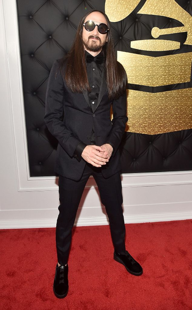 Steve Aoki from Grammys 2017 Red Carpet Arrivals