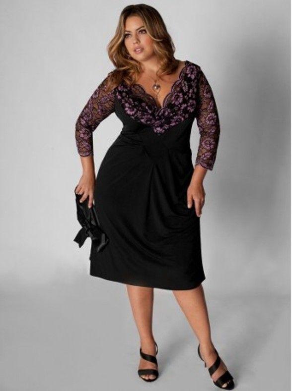 Plus Size Little Black Dress Fashion Pinterest Black And Fashion