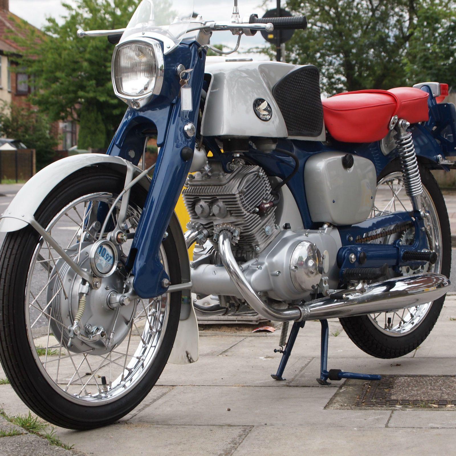 1964 Honda Cb92 125 Super Sport Benly Classic Very Very Rare Collectors Stunning Ebay Honda Sales Honda Motorcycles Honda