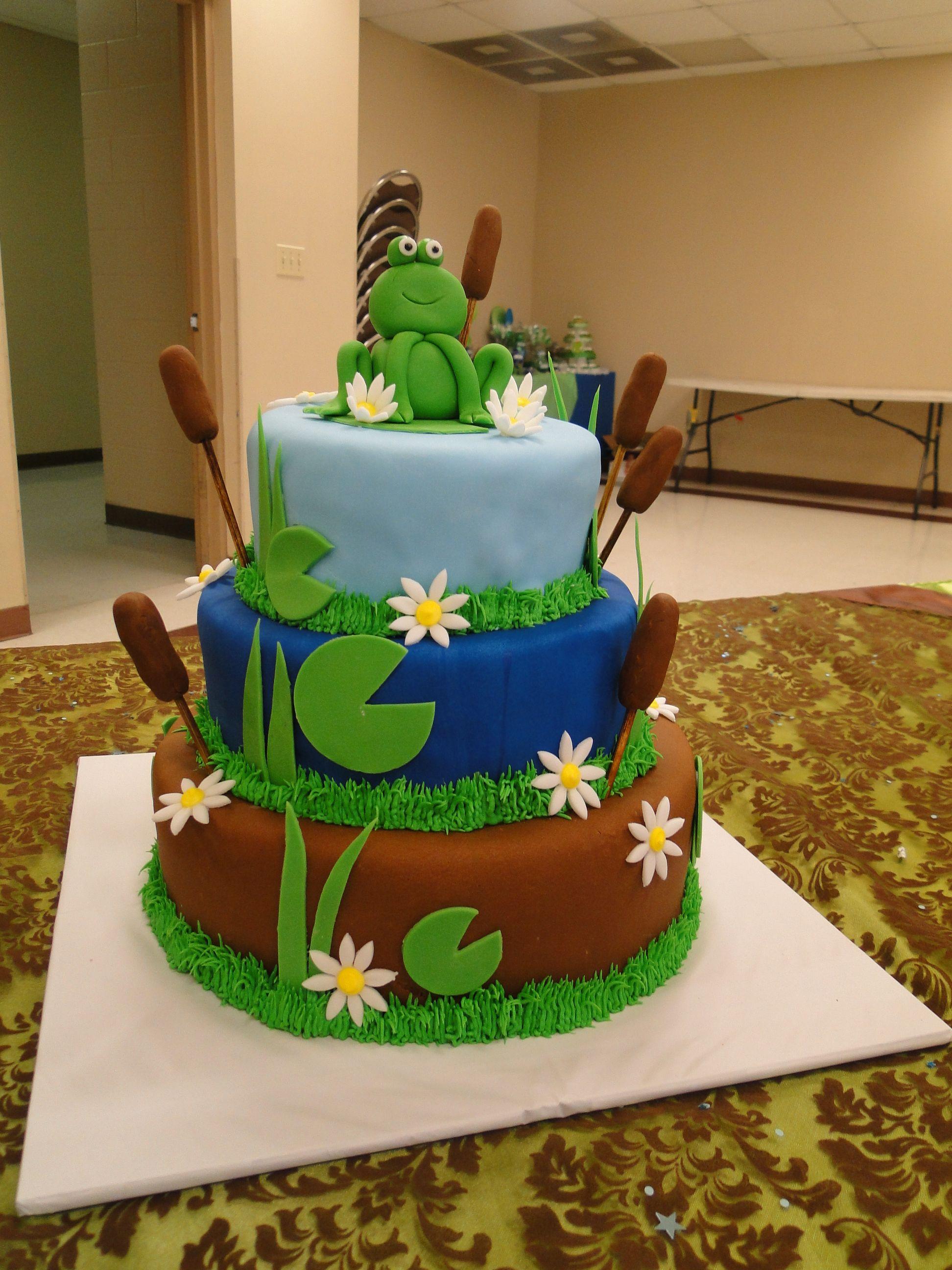 Baby shower og cake