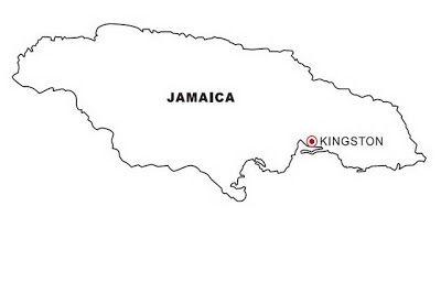 Laminas Para Colorear Coloring Pages Mapa Y Bandera De Jamaica
