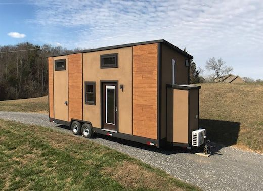 Tiny Homes Aren T Exactly Known For Being Weather Resilient But The So Called Amsterdam 24 Made By Transcend Tiny Mobile House Tiny House On Wheels Tiny House