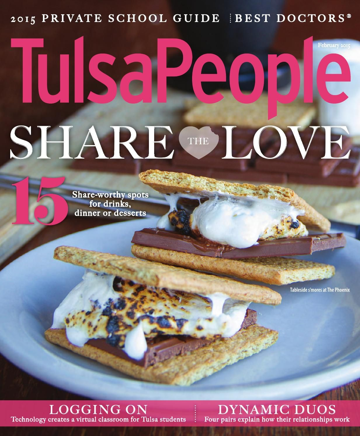 TulsaPeople February 2015;  Our interior design work is published in this edition.  See the article Destination: dream home.