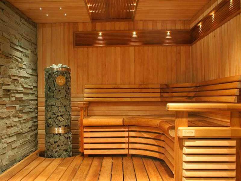 100 лучших идей: отделка бани внутри на фото | Дизайн, Дом ...
