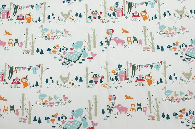 Emily Isabella For Birch Fabrics Everyday Party Collection Fabric Clothes And Nursery 100 Organic Cotton