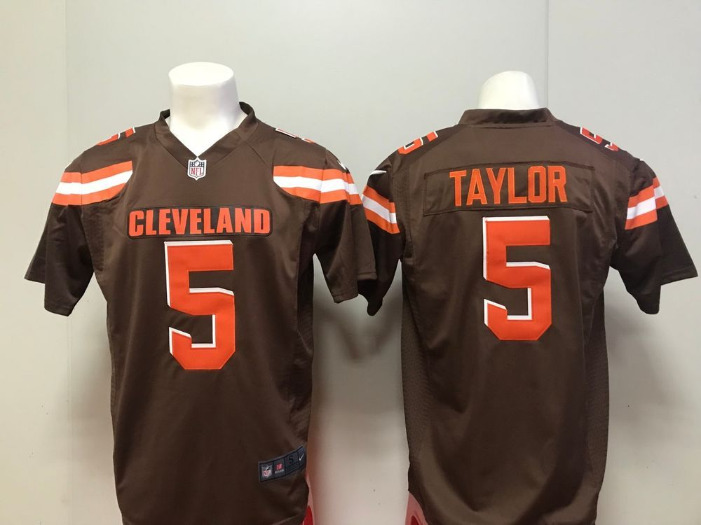 tyrod taylor browns jersey white