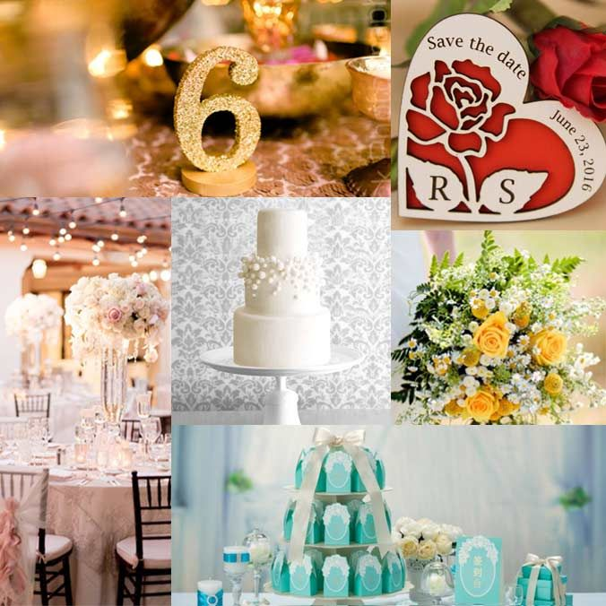 6 Common Wedding Colors Their Meanings Idea Bride Groom