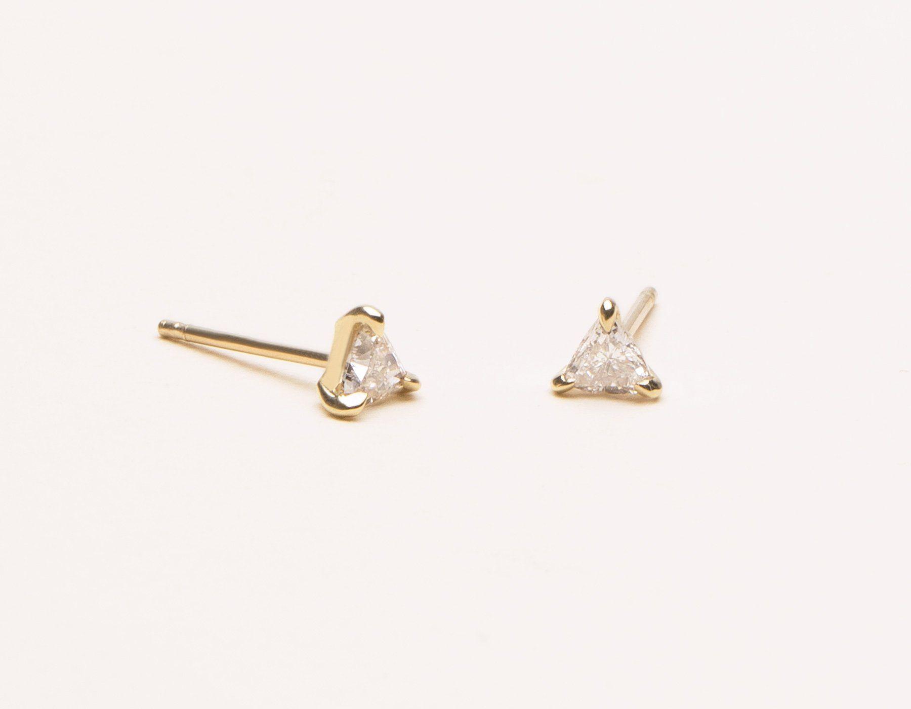 Trillion Diamond Earrings Wish List Pinterest
