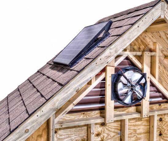 Lomanco Solar Gable Vent Fan Solar Energy For Home Buy Solar Panels Solar Panels