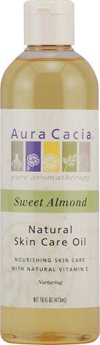 Aura Cacia Natural Skin Care Oil Sweet Almond 16 Ounce 10 25 Natural Oil Skin Care Oil Skin Care Natural Skin Care