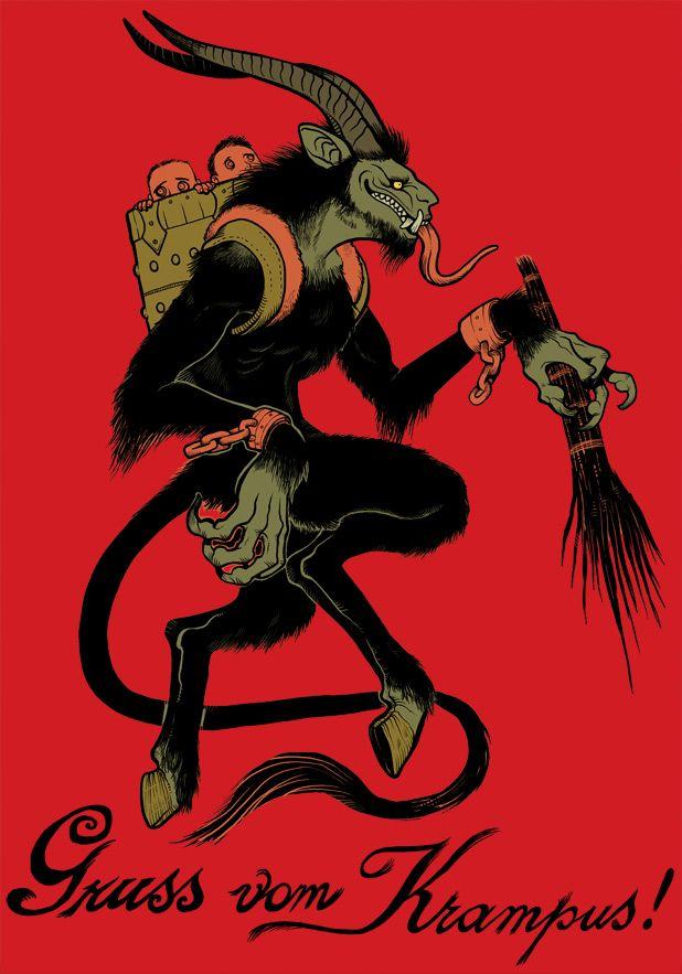 malicious myths krampus in the dark air