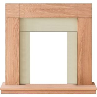 buy adam wyoming electric fire surround at. Black Bedroom Furniture Sets. Home Design Ideas