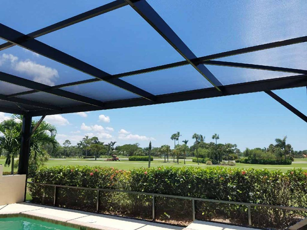 Choosing a lanai screening is easy with aluminum master