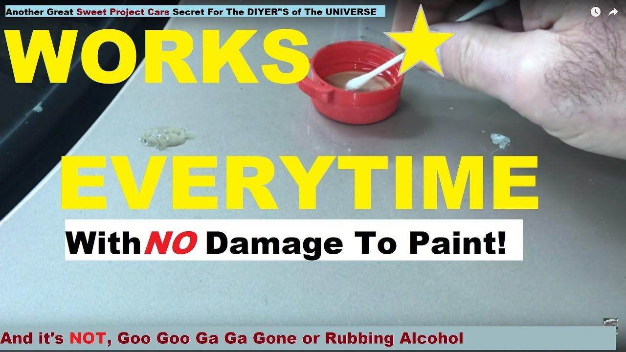 How To Remove TREE SAP, TAR & GLUE in Seconds AMAZING