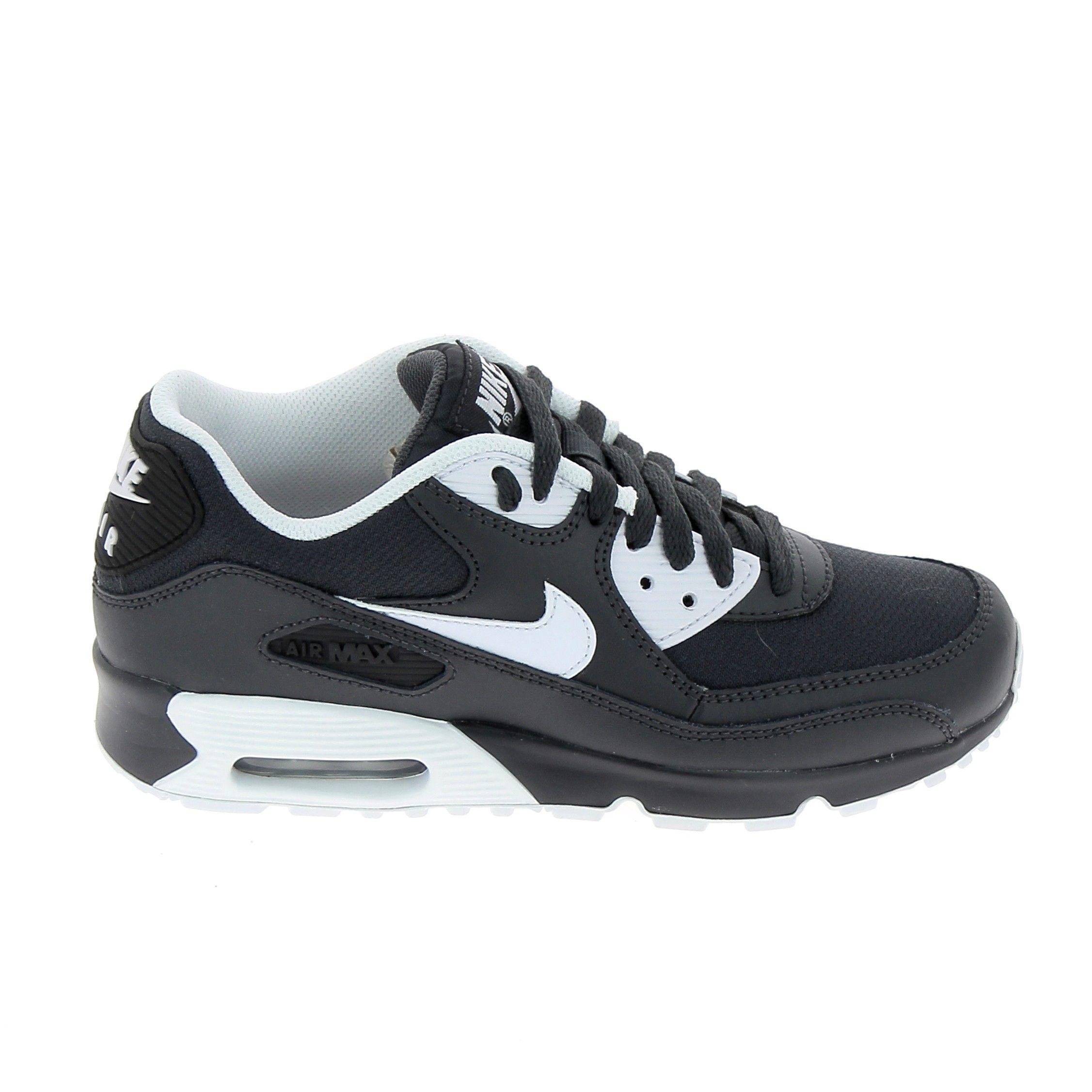NIKE Air Max 90 Mesh Jr Noir Gris | Nike air max, Nouvelle ...