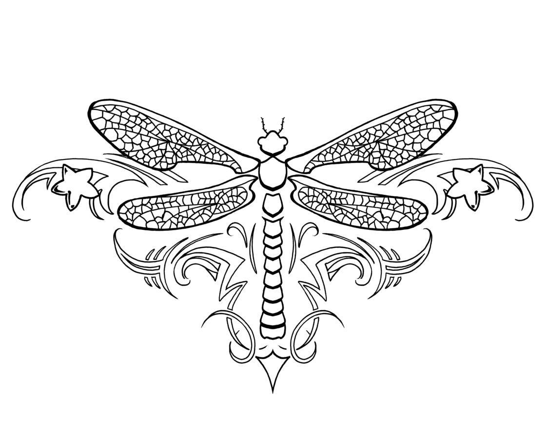 Dragonfly tattoo idea Tattoos