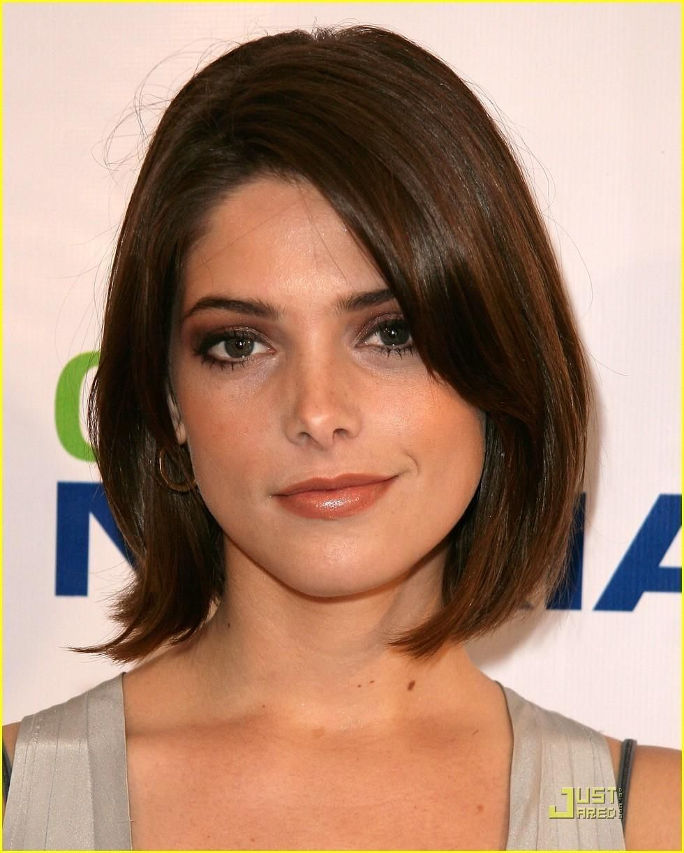 ashley greene lakers party short hair | after locks of love