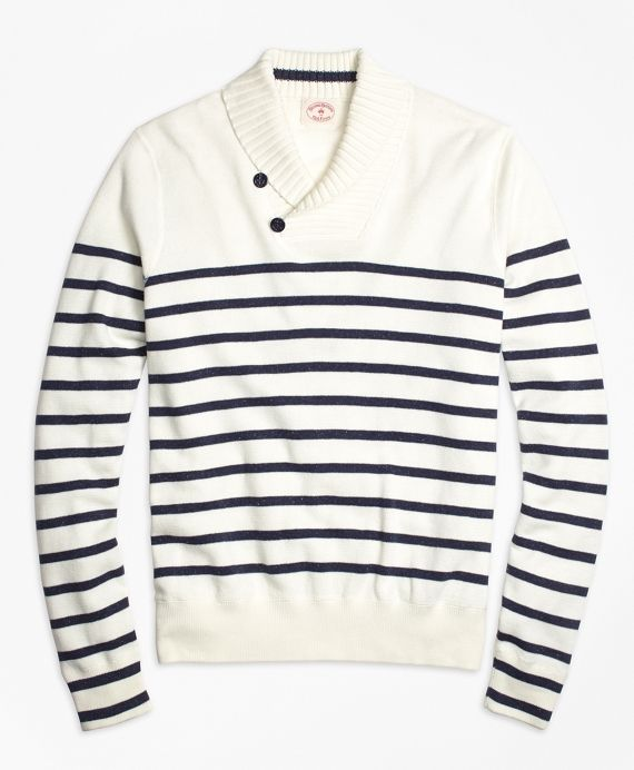 Red Fleece nautical cotton sweater. | American Summer | Pinterest