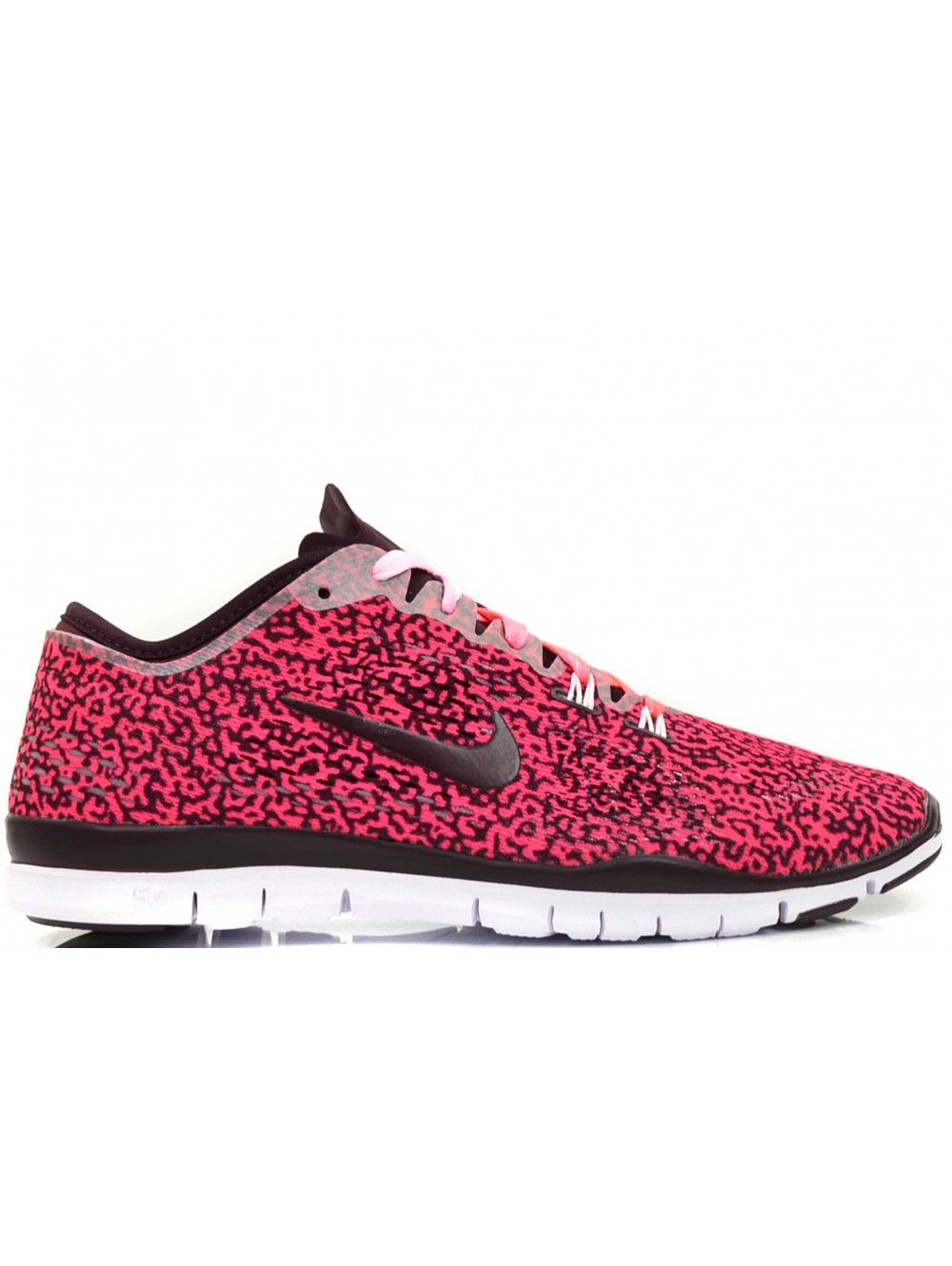separation shoes 8508c f6164 NIKE FREE 5.0 DAMES SNEAKERS - ROZE ZWART