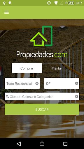 Propiedades.com te ofrece esta innovadora app con la que podrás consultar más de 100,000 inmuebles en venta y renta en todo México, de manera fácil y rápida. <p>Con ella puedes:<br>- Buscar cualquier tipo de inmueble en venta o renta<br>- Filtrar y ordenar los resultados de tus búsquedas<br>- Guardar las búsquedas que hayas realizado<br>- Buscar las propiedades guardadas<br>- Registrarte con Facebook<br>- Recibir notificaciones de las búsquedas guardadas<br>- Sincronizar tus búsquedas y tus…