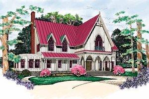 Gothic Revival House Plans