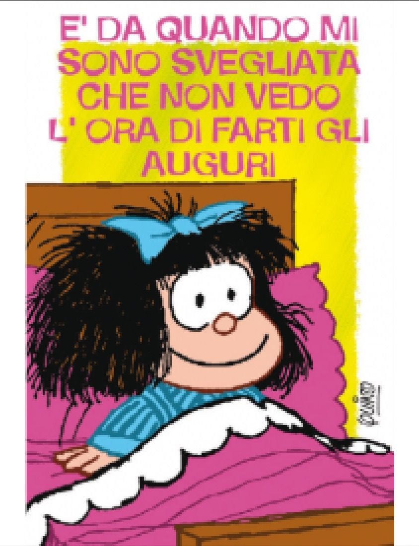 Auguri Matrimonio Vignette : Vignette auguri compleanno mafalda tondekapper