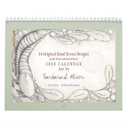 14 original drawings calendar 2018 love gifts cyo personalize diy
