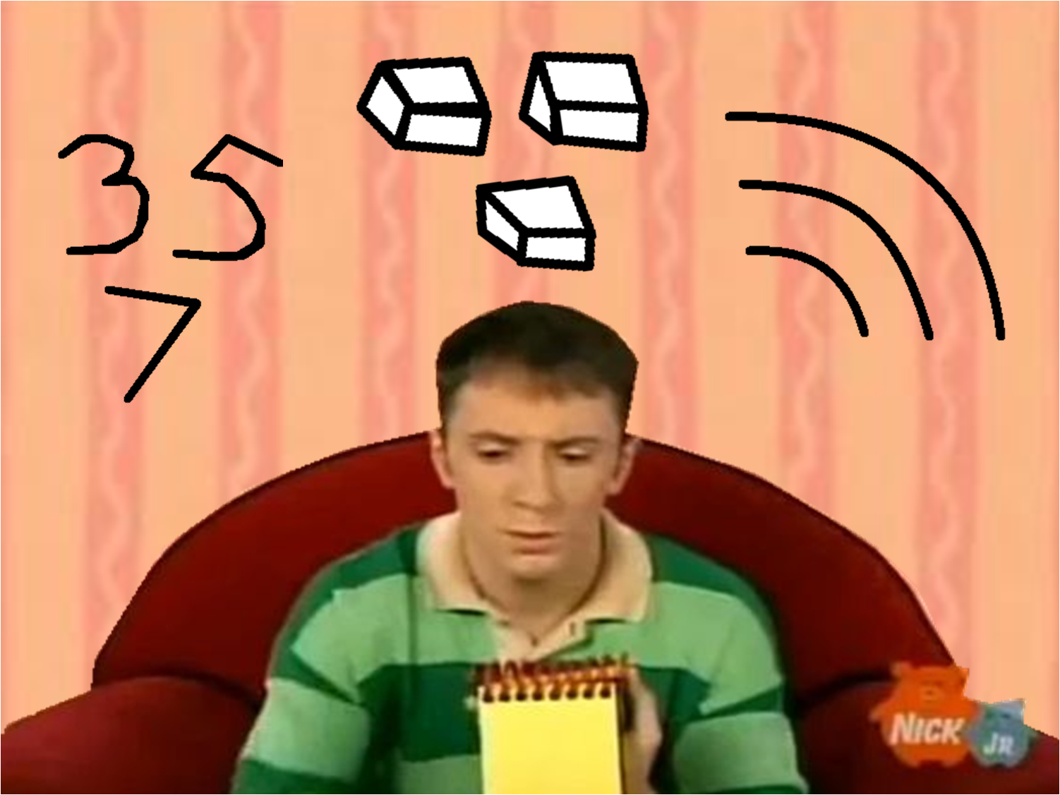 Thinking Time Joe Goes To College Blues Clues Season 5 And 6