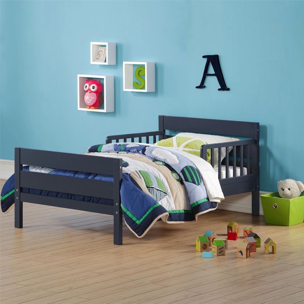 toddler blue bed cruz kids multi use twin crib square traditional