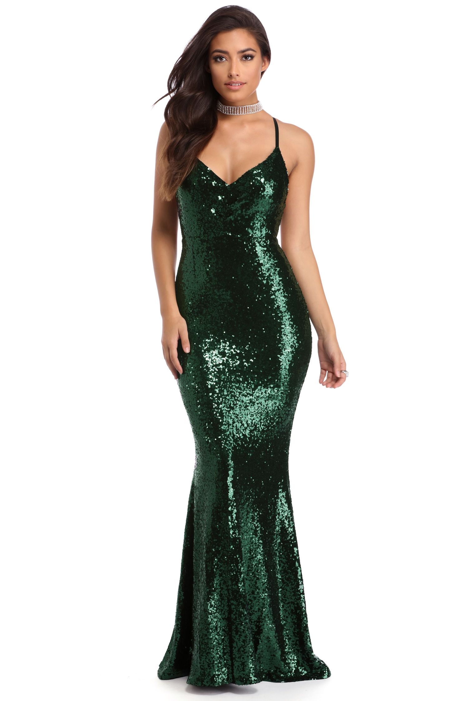 Ivy Green Siren Dress  f8b2b2bdeed2