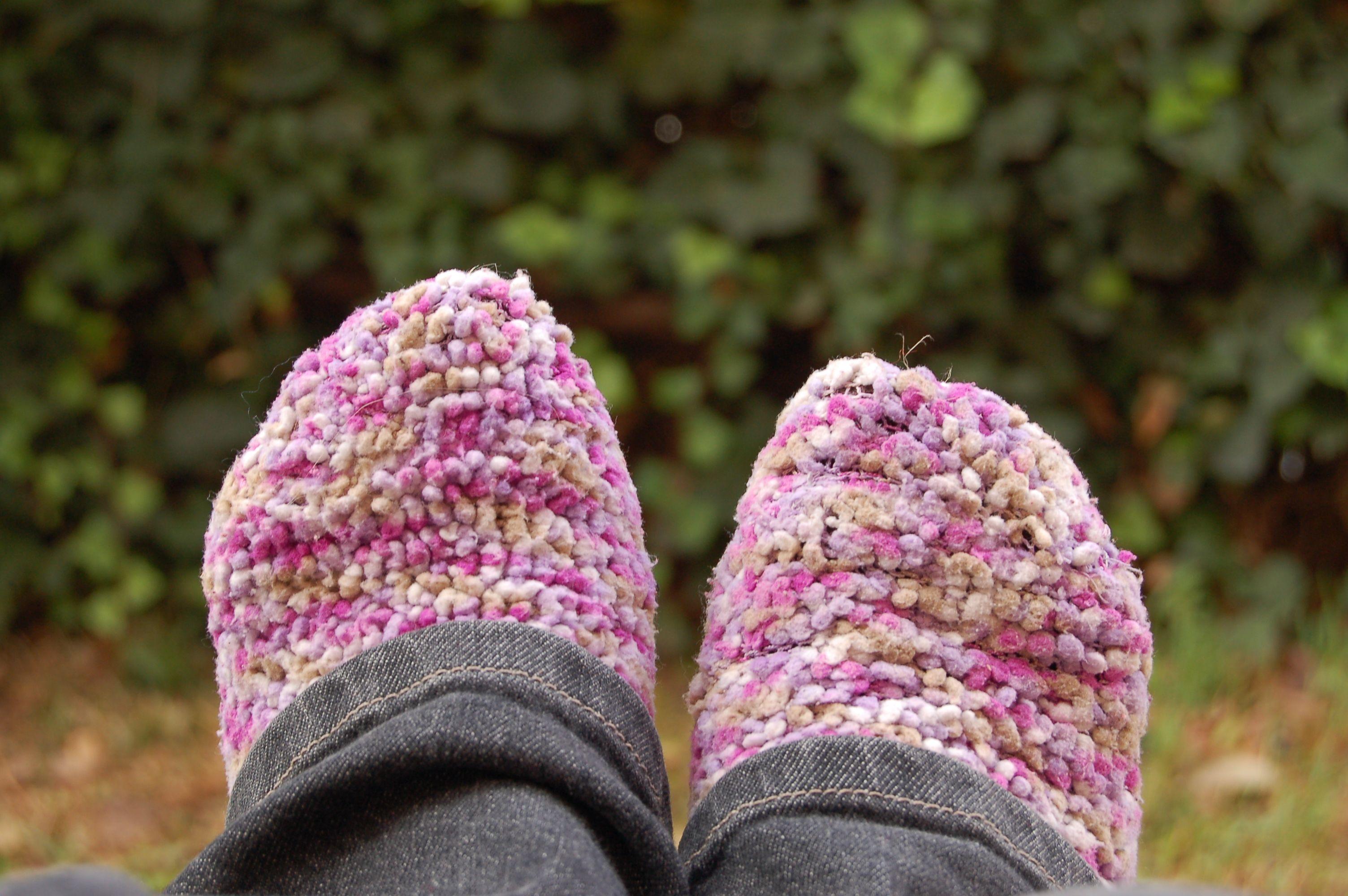 warm, fuzzy socks!